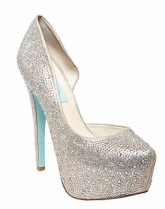 Blue by Betsey Johnson SB-STAR - CHAMPAGNE Wedding Shoes photo