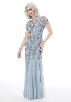 MGNY 72211 Blue,Silver,Champagne,Pink Mother Of The Bride Dress