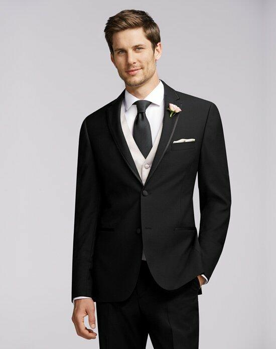 The Men's Wearhouse® Calvin Klein Framed Edge Tuxedo Wedding Tuxedos + Suit photo