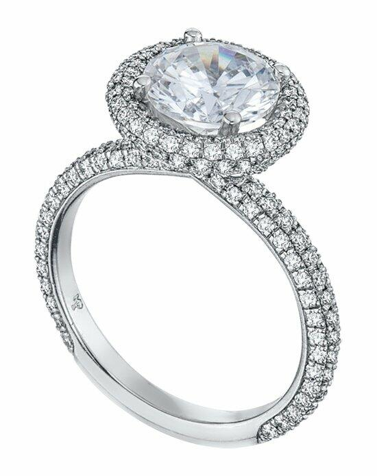 Platinum Must Haves Mark Patterson Platinum & Diamond Engagement Ring Engagement Ring photo