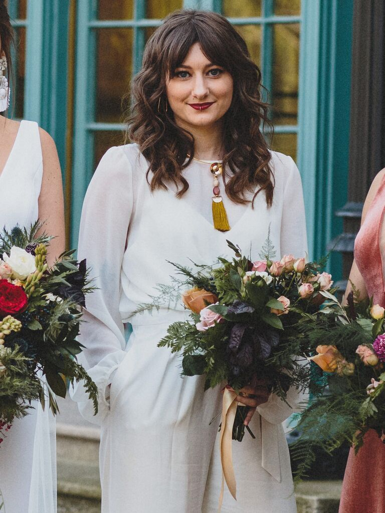 Wedding Guest Hairstyles Curtain Bangs
