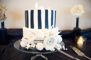 Preppy Wedding Cake
