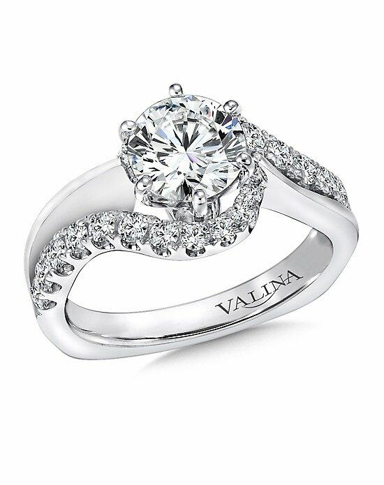 Valina R9295W Engagement Ring photo