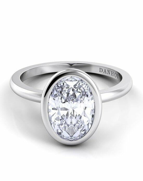 Danhov Per Lei Oval Classic Engagement Ring photo