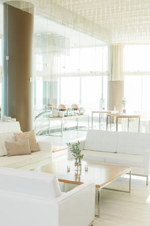 Modern, Minimal Cocktail Furniture at One Atlantic in Atlantic City, New Jersey