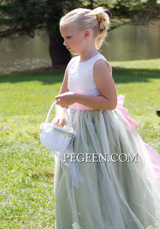 Pegeen.com  307 Flower Girl Dress photo