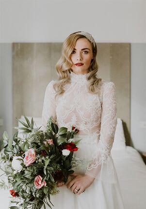 Cynthia Grafton-Holt Couture ZAHA Two Piece Wedding Dress A-Line Wedding Dress