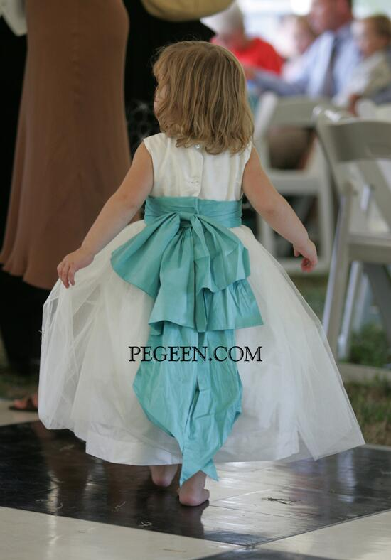 Pegeen.com  394 Flower Girl Dress photo