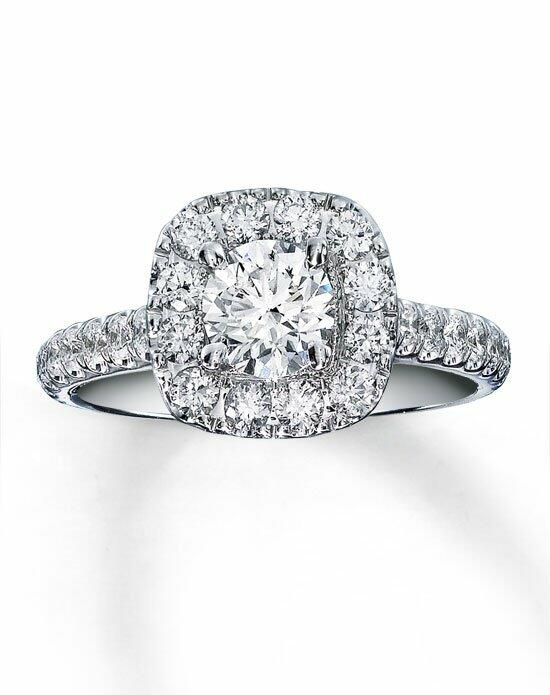 Neil Lane 14kw 1-7/8cttw Round Bridal Set-940219600 Engagement Ring photo
