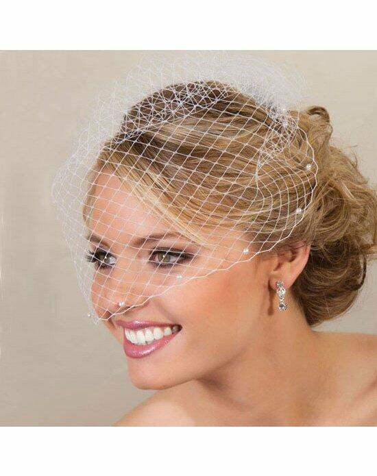 USABride Pearl Edge Cage Veil VB-490 Wedding Veils photo