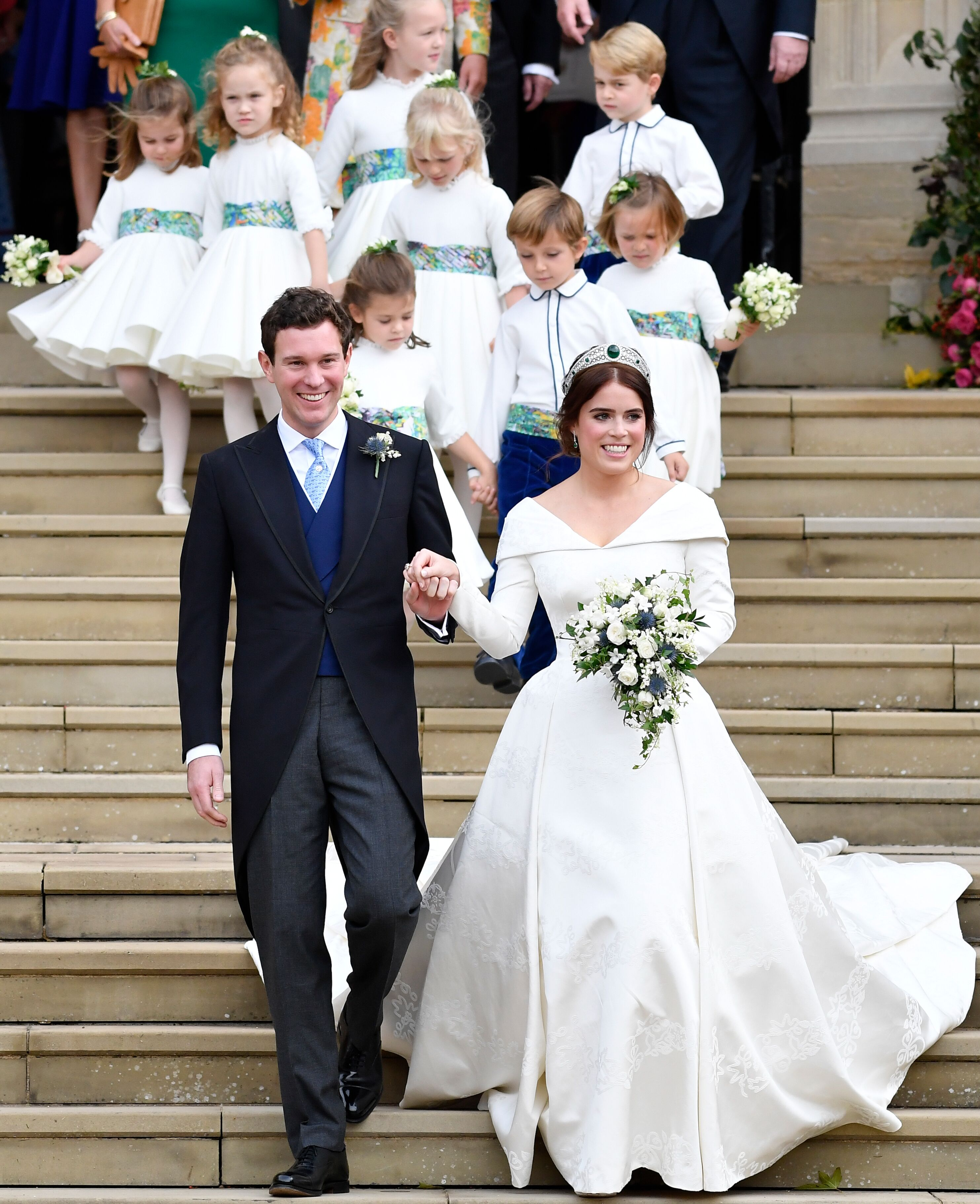 Princess Eugenie Wedding Photos And Details What You Didn T Know