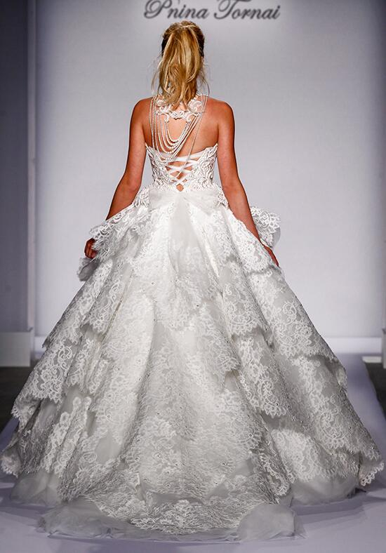 Pnina tornai for kleinfeld 4459 wedding dress the knot for Pnina tornai wedding dresses prices