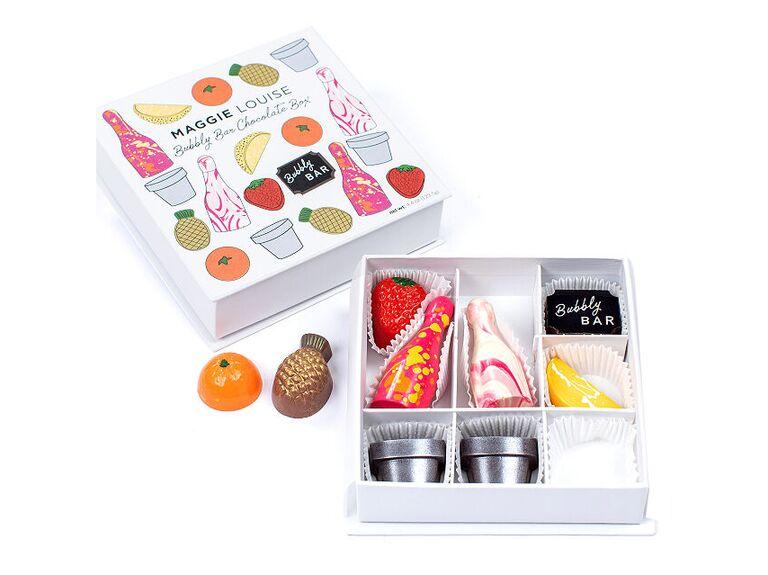 Delicious box of chocolates gift idea