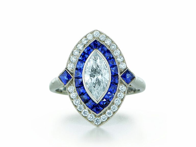 Kwiat vintage engagement ring