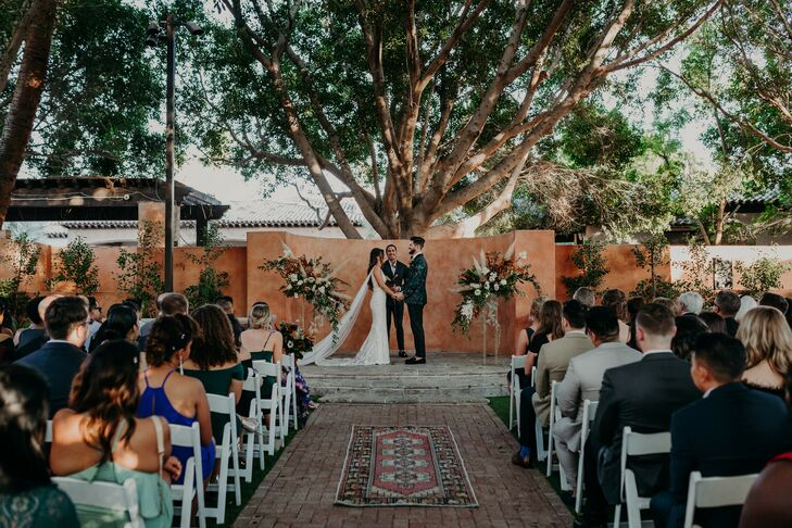 Ceremony at Scottsdale, Arizona, Wedding
