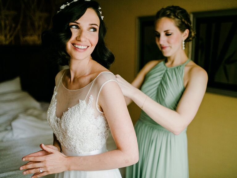 Wedding dress fittings
