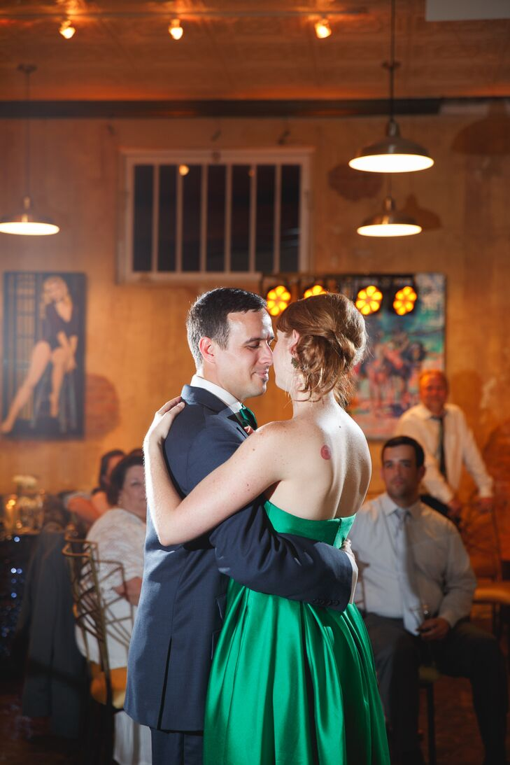First Dance at Hot Damn, Tamales! in Fort Worth