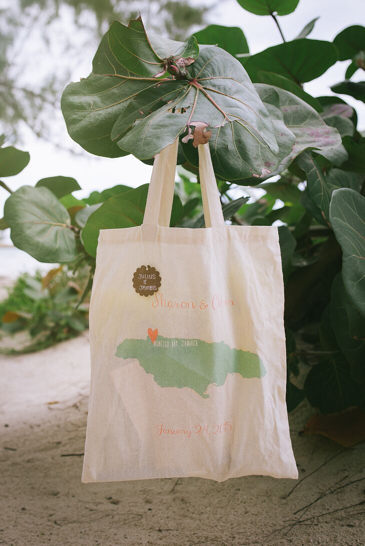 DIY Hospitality Bags for Destination Wedding