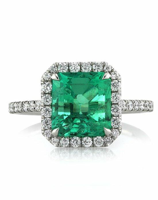 Mark Broumand 2.84ct Emerald and Diamond Engagement Ring Engagement Ring photo