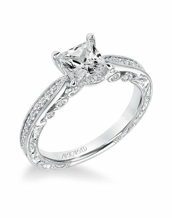 ArtCarved 31-V683ECW-E Engagement Ring photo