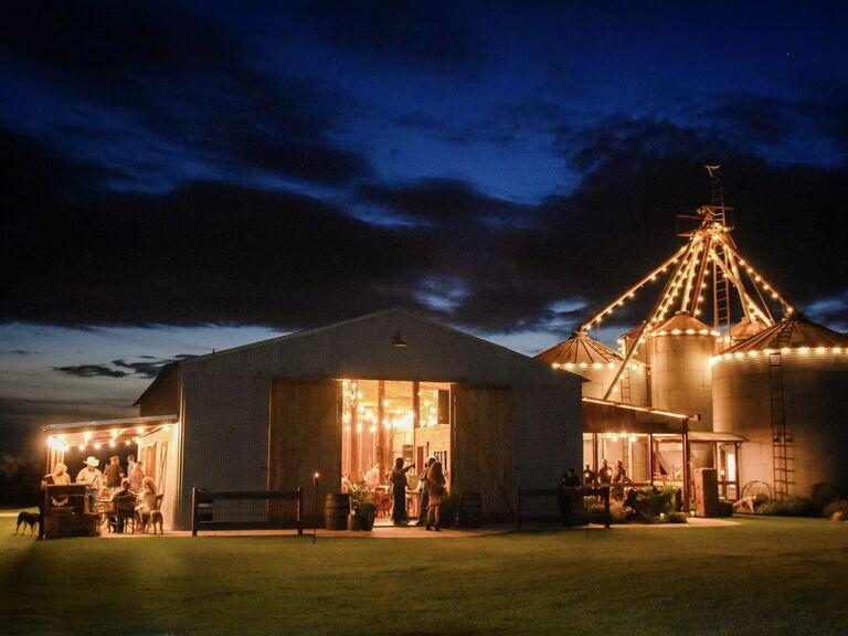 North Texas wedding venue in Blum, Texas.