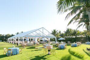 Tented Reception at South Seas Island Resort
