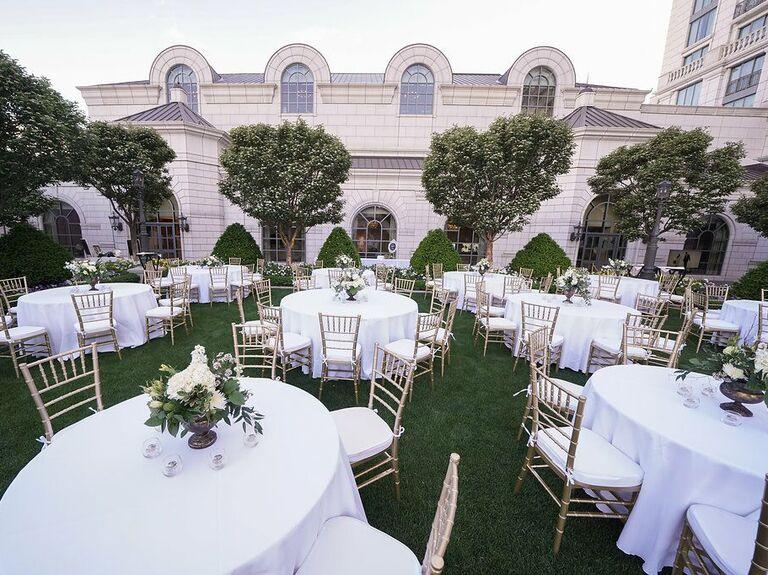 Wedding venue in Salt Lake City, Utah.