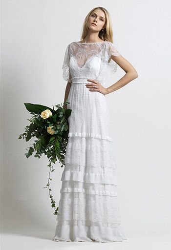 11 Wedding Dress Designers To Watch The Knot,Hand Made Simple Embroidery Designs For Baby Frocks