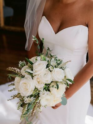 Wedding Bouquet at The Hempstead House in Sands Point, New York
