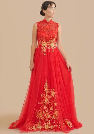 East Meets Dress Mindy Bespoke Dress A-Line Wedding Dress