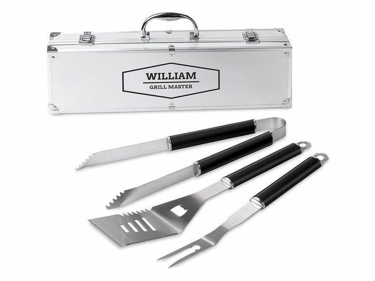 bbq tool set with personalized case