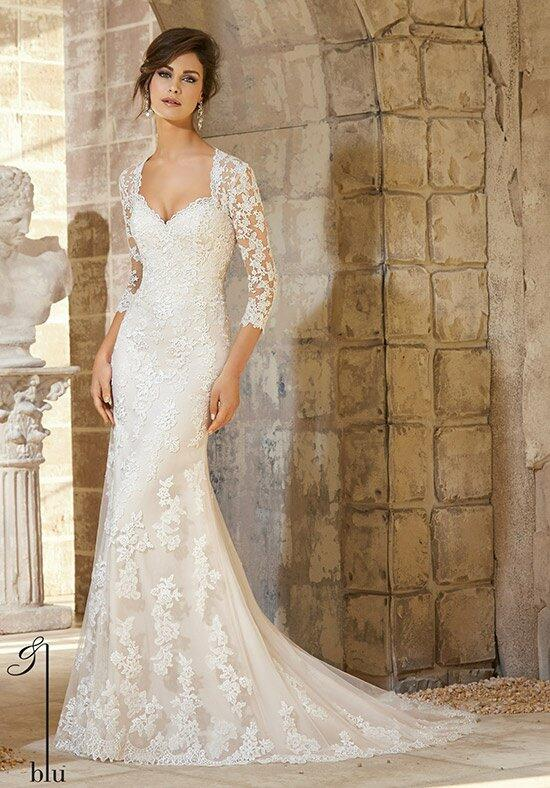 Blu by Madeline Gardner 5372 Wedding Dress photo