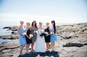 Mixed J.Crew Bridesmaid Dresses