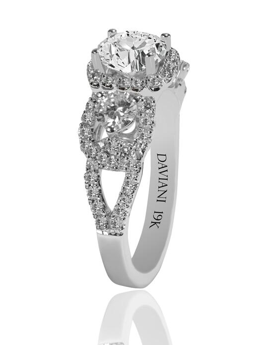Daviani Love Links Collection DCR1185 Engagement Ring photo
