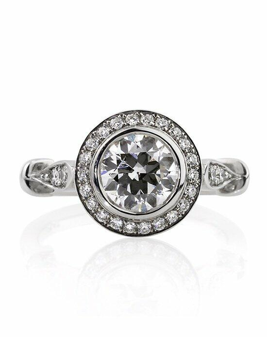 Mark Broumand 1.69ct Old European Round Cut Diamond Engagement Ring Engagement Ring photo