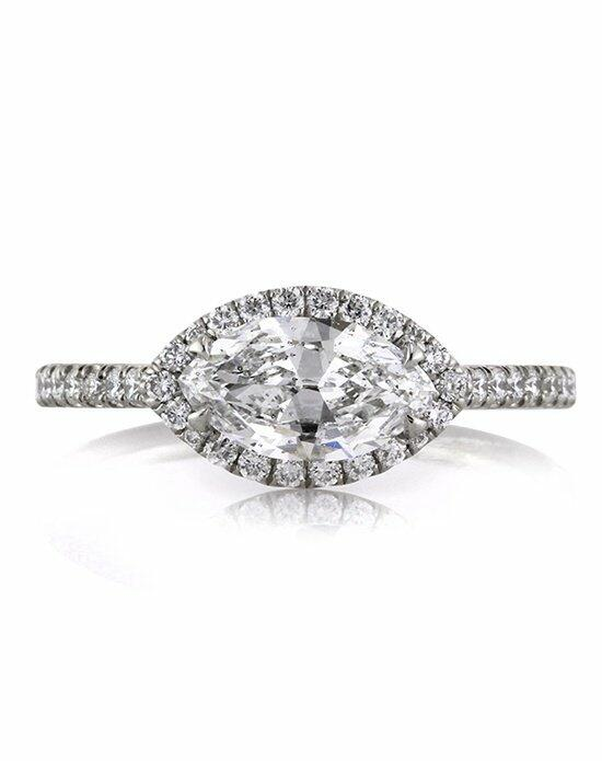 Mark Broumand 1.60ct Marquise Cut Diamond Engagement Ring Engagement Ring photo