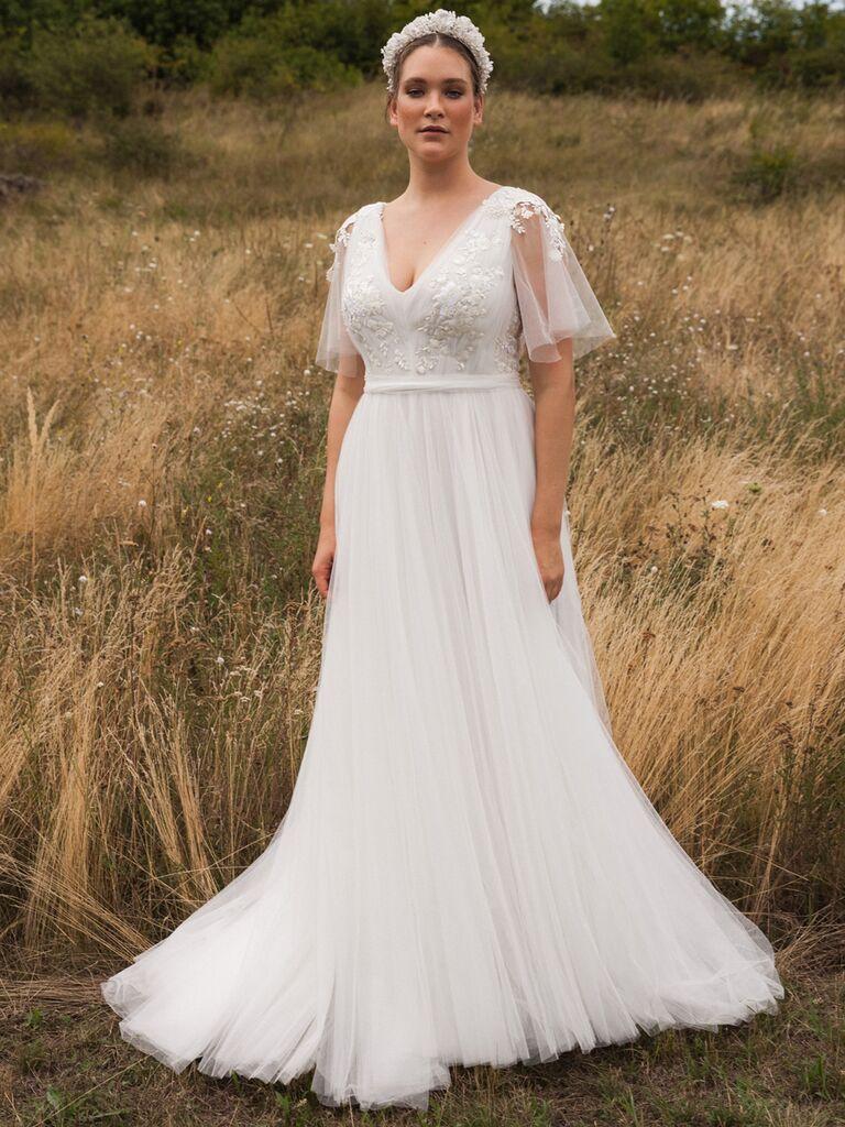 Vintage A-line Wedding Dress