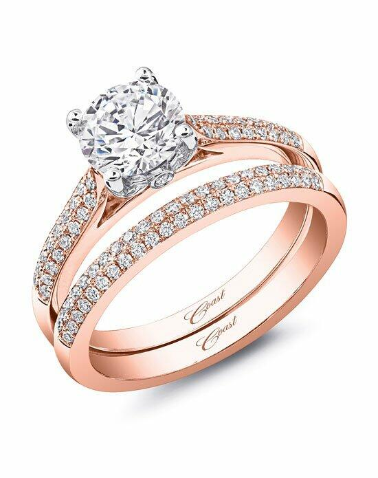 Coast Diamond Rose Gold Collection - LC5446 & WC5446 Engagement Ring photo