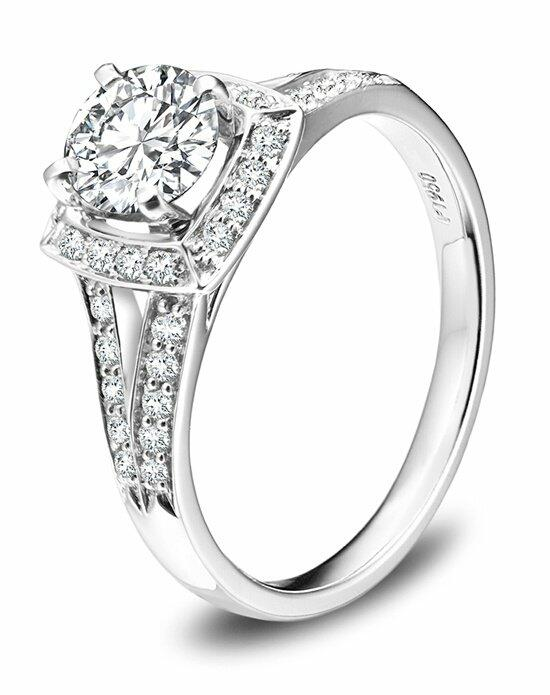 Platinum Must Haves Robbins Brothers Platinum and Diamond Ring Engagement Ring photo