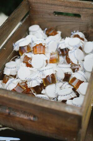 Honey Jar Wedding Favors in Sedona, Arizona