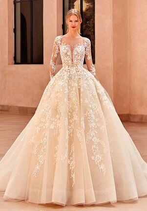 Demetrios 1118 Ball Gown Wedding Dress