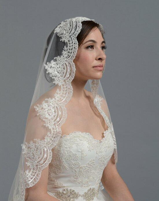 Tulip Bridal Lace Mantilla Veil V030 Wedding Veils photo