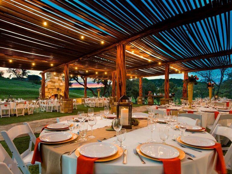 Wedding venue in Boerne, Texas.