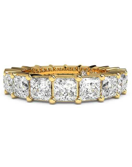 Ritani Women's Princess-Cut Diamond Prong-Set Eternity Ring - in 18kt Yellow Gold - (3.57 CTW) Wedding Ring photo