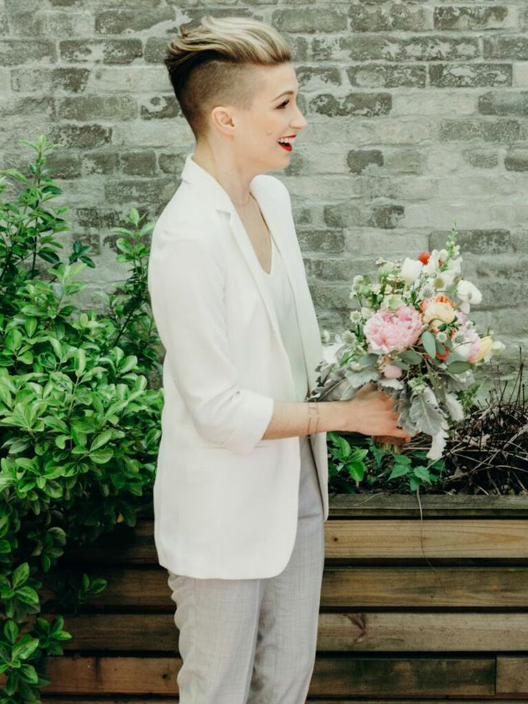 Slicked Back 'Dos - 2019 Bridal Beauty Trend