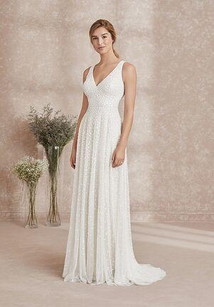 Adrianna Papell Platinum Destination 40294 A-Line Wedding Dress