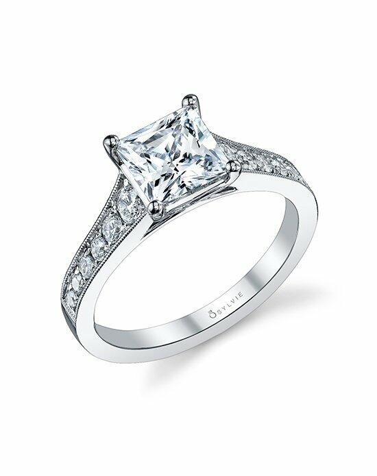 Sylvie Collection S1079 Engagement Ring photo