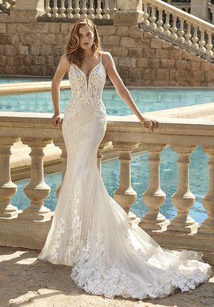 Demetrios 1157 Sheath Wedding Dress