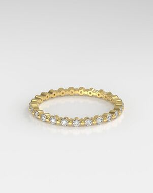 HOLDEN The Floating Eternity Platinum, Rose Gold, White Gold Wedding Ring