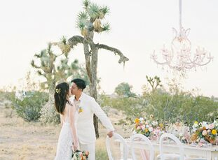Although the COVID-19 pandemic forced Melody and Xavier to postpone, and then cancel, their big wedding celebration the couple decided to elope to the